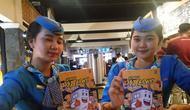 PT KAI meluncurkan komik SI Loko sebagai media komunikasi yang efektif untuk penumpang kereta di Indonesia (Liputan6.com/ Switzy Sabandar)