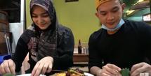 Citra Kirana dan Rezky Aditya (Youtube/Ciky Citra Rezky)