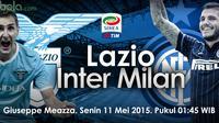 Lazio vs Inter Milan (bola.com/samsulhadi)