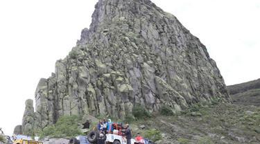 Panorama Gunung Kelud