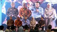Menteri Kelautan dan Perikanan Edhy Prabowo lepas ekspor raya 20.151 ton hasil perikanan dari Pelabuhan Teluk Lamong. (Dok. KKP)