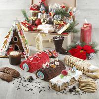 Gran Melia Jakarta dengan bangga memberikan Anda pilihan hadiah makanan manis ala Natal untuk merayakan pesta gembira ini. (Liputan6.com/Pool/Gran Melia)