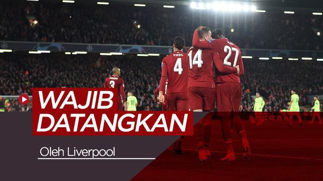 Berita video beberapa pemain yang harus didatangkan Liverpool jika mereka ingin menjuarai Premier League musim depan.