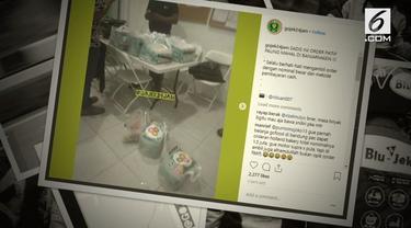 Seorang ojek online di Banjarmasin terkena tipuan order fiktif. Alhasil ia harus merugi satu setengah juta rupiah lebih untuk membeli makanan.