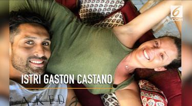 Gaston Castano kini tengah berbahagia dengan istri barunya Luna Montico