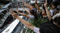 Demo lawan kudeta Thailand (Reuters)
