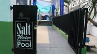 Kolam renang Hotel Grand Inna Medan. (Liputan6.com/Reza Efendi)