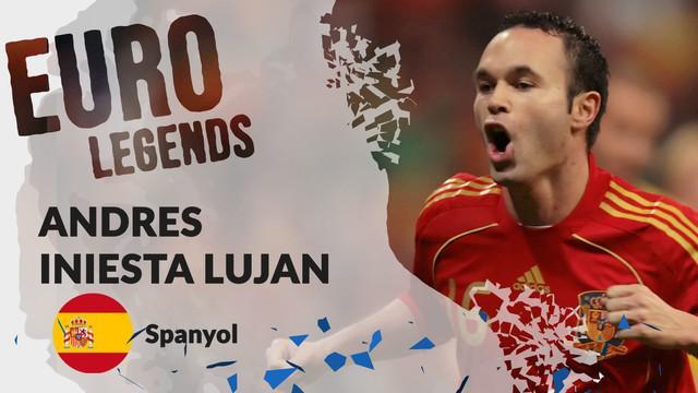 Berita motion grafis profil legenda Andres Iniesta, pemain rendah hati Spanyol dengan kecerdasan tinggi.