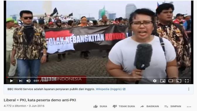 Gambar Tangkapan Layar Video dari Channel YouTube BBC News Indonesia