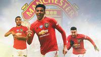 Manchester United - Pemain yang Jadi Korban Kedatangan Jadon Sancho (Bola.com/Adreanus Titus)