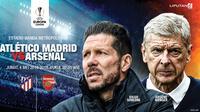 Prediksi Arsenal Vs Atletico madrid (Liputan6.com/Trie yas)
