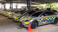 Tesla Model 3 Resmi Jadi Mobil Polisi di Thailand (Rushlane)