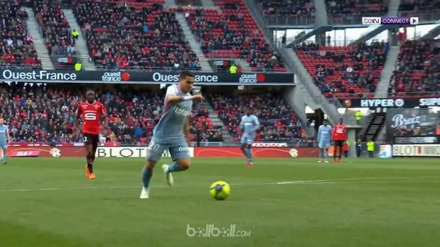 Monaco menjaga jarak lima poin dari Marseille dalam perebutan posisi kedua klasemen Liga Prancis setelah bermain imbang 1-1 di mar...