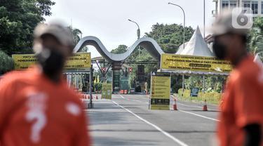 FOTO: Wisata Ancol Ditutup 2 Hari Imbas Kerumunan