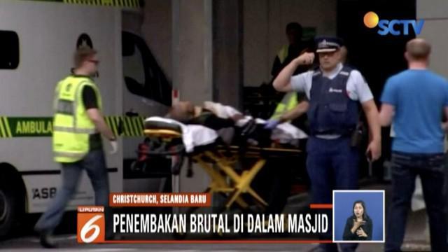 Terjadi penembakan brutal saat Salat Jumat di sebuah masjid di Christchurch, Selandia Baru. Informasi terakhir ada 6 WNI yang ada di dalam tempat kejadian.