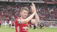 Gelandang Manchester United asal Inggris, Michael Carrick. (dok. Manchester United)