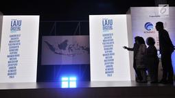Suasana peluncuran kampanye Laju Digital Facebook di Jakarta, Selasa (14/8). Kampanye untuk membantu Usaha Kecil dan Menengah mengembangkan bisnisnya secara online ini menyasar 3 ribu unit usaha di 15 kota Indonesia. (Merdeka.com/Iqbal S. Nugroho)