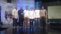 Kerja sama Mola TV dan JakTV memastikan Premier League 2019-2020 bisa dinikmati warga Jakarta dan sekitarnya lewat stasiun televisi lokal tersebut. (Bola.net/Fitri Apriani)