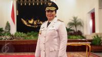 Irene Manibuy usai dilantik menjadi Wagub Papua Barat, , Jakarta, Rabu (27/5/2015). Irene Manibuy ditetapkan melalui Keputusan Presiden nomor 38 P nomor 2015 tentang pengesahan dan pengangkatan Wagub Papua Barat. (Liputan6.com/Faizal Fanani)