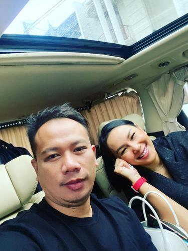 [Fimela] Vicky Prasetyo dan Kalina Oktarani
