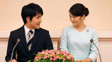 Cucu Kaisar Jepang-Putri Mako-Kei Komuro