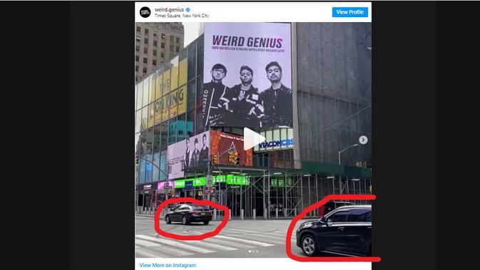 Cek Fakta Liputan6.com menelusuri foto kampanye Doland Trump menggunakan bahasa Indonesia