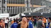 Suasana Stadion Nasional Bukit Jalil sebelum upacara penutupan SEA Games 2017, Rabu (30/8/2017). (Liputan6.com/Cakrayuri Nuralam)