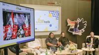 Kegiatan JBS Talk secara virtual, Senin (6/9/2021).