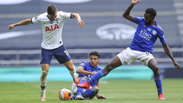 FOTO: Tottenham Hotspur Cukur Leicester City 3-0