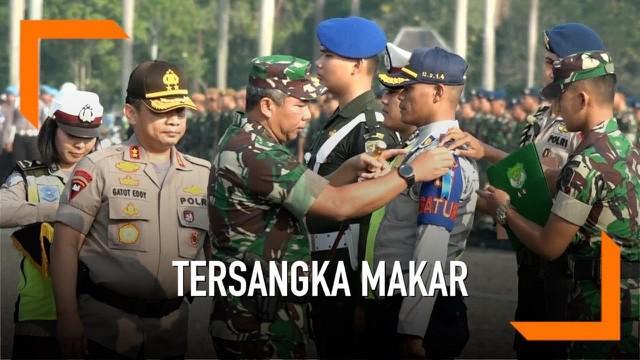 Panglima TNI menyebut purnawirawan yang terlibat kasus makar proses hukumnya diserahkan kepada Kepolisian. Karena ranah purnawirawan sudah masuk pada ranah hukum sipil.