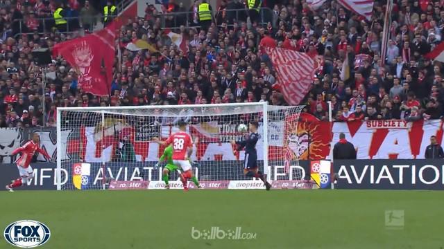 Berita video highlights Bundesliga antara Mainz Vs Bayern Munchen 0-2. This video is presented by Ballball.