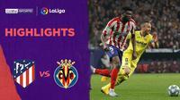 Beriita Video Highlights La Liga, Atletico Madrid vs Villarreal 3-1