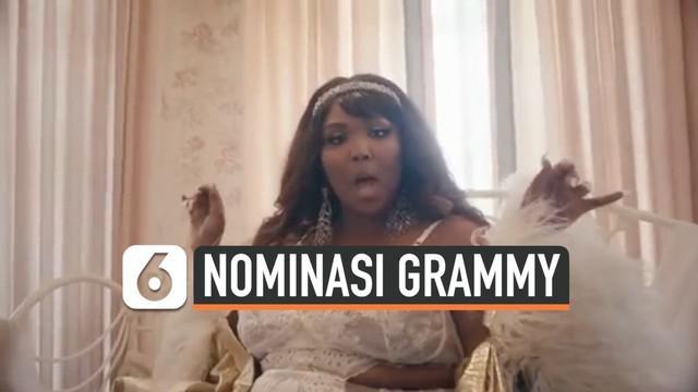 Rapper pendatang baru Lizzo langsung memborong 8 nominasi di ajang Grammy Awards 2020. Padahal ini kali pertama namanya masuk daftar nominasi Grammys.