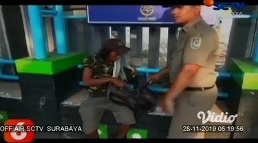 Satuan Polisi Pamong Praja (Satpol PP) Kabupaten Tuban, Jawa Timur, Rabu pagi menggelar razia gelandangan dan pengemis, di sejumlah titik pusat keramaian kota dan jalur pantura.