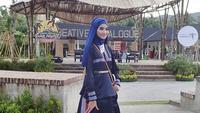 Fashion show busana muslim meriahkan Festival Bau Nyale 2019. (dok. Kemenpar)