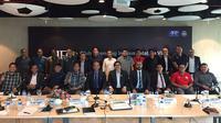 PSSI dan perwakilan klub bersama AFC membicarakan perihal lisensi klub profesional AFC untuk 2018, Sabtu (4/3/2017) di Jakarta. (Bola.com/Istimewa)