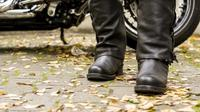 Ilustrasi boots motor (Istimewa)