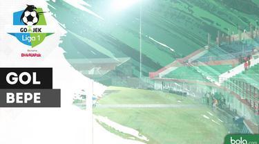 Berita video gol perdana Bepe, sapaan akrab Bambang Pamungkas, di Gojek Liga 1 2018 bersama Bukalapak saat Persija Jakarta menang 5-0 atas PS Tira, Jumat (8/6/2018).