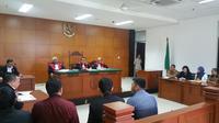 Sidang kasus vaksin palsu kembali digelar di Pengadilan Negeri (PN) Jakarta Timur. (Liputan6.com/Nanda Perdana Putra)
