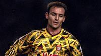 Arsenal punya kostum unik pada musim 1991-1992 yang dijadikan jersey ketiga mereka. (The Soccer Spot)