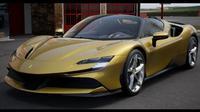 Ferrari SF90 Stradale. (Instagram/@iamzlatanibrahimovic)