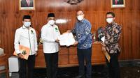 PPP Terima SK Kemenkumham Terkait Kepengurusan. (Foto: Istimewa).