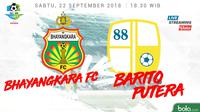 Liga 1 2018 Bhayangkara FC Vs Barito Putera (Bola.com/Adreanus Titus)