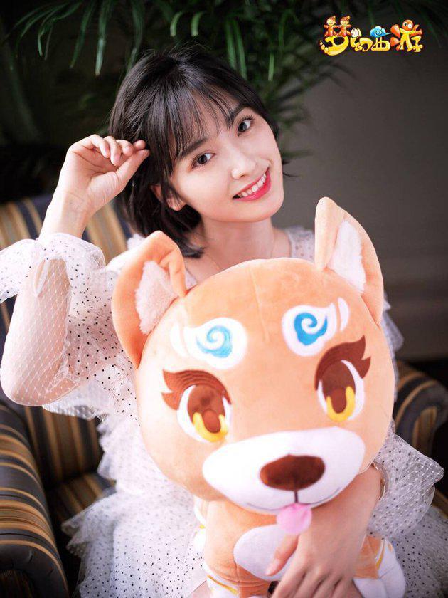 Wajah menggemaskan Shen Yue mulai jadi idola setelah dia memerankan karakter Chen Xiaoxi yang pantang menyerah untuk mendapatkan cowok yang dia suka dalam webseries super populer, 'A Love So Beautiful', yang ceritanya diangkat dari novel./Copyright Istimewa/pit