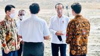 Hyundai dan LG Mulai Pembangunan Pabrik Sel Baterai di Indonesia (IG Jokowi)