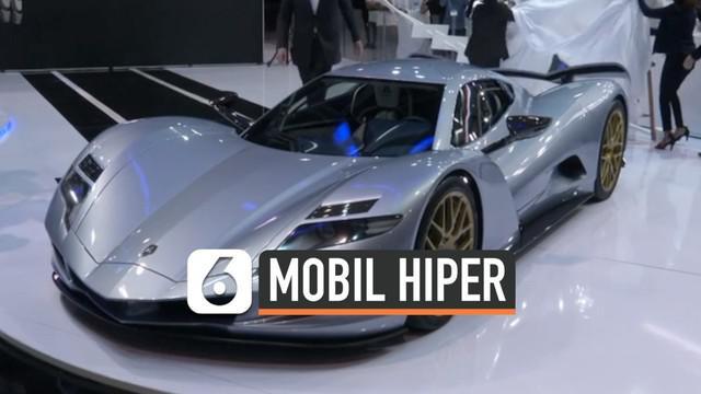 Mobil hiper bertenaga listrik diluncurkan di Dubai. Mobil ini mampu melesat dengan kecepatan maksimal 400 km/ Jam.