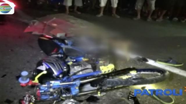 Kecelakaan ini terjadi Minggu malam di Jalan Raya Ngawi menuju Solo.