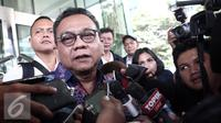 Ketua Badan Legislasi Daerah (Balegda) DPRD DKI Jakarta, M Taufik kembali diperiksa penyidik KPK, Jakarta (3/5) Taufik diperiksa sebagai saksi untuk tersangka M Sanusi. (Liputan6.com/Helmi Afandi)