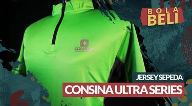 Berita video Bola Beli kali ini mengulas kualitas yang ditawarkan dari jersey sepeda dari Consine tipe Ultra Series.
