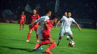 PSS mengalahkan Persijap 1-0 pada lanjutan Liga 2 2017 di Stadion Gelora Bumi Kartini, Jepara, Rabu (17/5/2017) malam. (Bola.com/Ronald Seger)